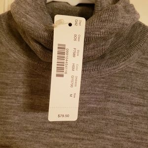 J. Crew wool turtleneck, medium